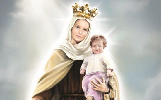 Capa da notícia: Nossa Senhora do Carmo- A presença de Maria enche a vida do Carmelo