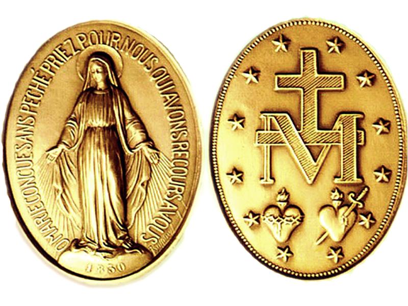 Capa da notícia: Conheça mais do significado da medalha milagrosa de Nossa Senhora das Graças